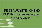 RESTAURANTE CHINO PEKIN Bucaramanga Santander