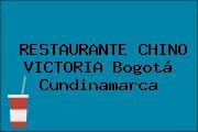 RESTAURANTE CHINO VICTORIA Bogotá Cundinamarca