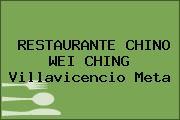 RESTAURANTE CHINO WEI CHING Villavicencio Meta