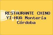 RESTAURANTE CHINO YI-HUA Montería Córdoba