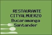 RESTAURANTE CITYALMUERZO Bucaramanga Santander