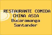 RESTAURANTE COMIDA CHINA ASIA Bucaramanga Santander