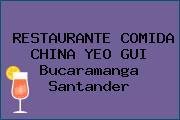 RESTAURANTE COMIDA CHINA YEO GUI Bucaramanga Santander