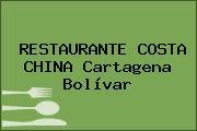 RESTAURANTE COSTA CHINA Cartagena Bolívar