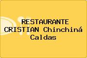 RESTAURANTE CRISTIAN Chinchiná Caldas