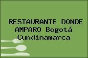 RESTAURANTE DONDE AMPARO Bogotá Cundinamarca