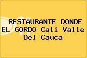 RESTAURANTE DONDE EL GORDO Cali Valle Del Cauca