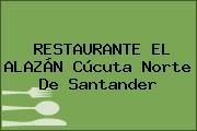 RESTAURANTE EL ALAZÁN Cúcuta Norte De Santander