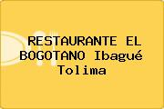 RESTAURANTE EL BOGOTANO Ibagué Tolima