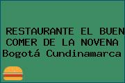 RESTAURANTE EL BUEN COMER DE LA NOVENA Bogotá Cundinamarca