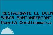 RESTAURANTE EL BUEN SABOR SANTANDERIANO Bogotá Cundinamarca