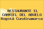 RESTAURANTE EL CARRIEL DEL ABUELO Bogotá Cundinamarca