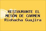 RESTAURANTE EL MESÓN DE CARMEN Riohacha Guajira