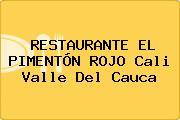 RESTAURANTE EL PIMENTÓN ROJO Cali Valle Del Cauca