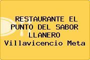 RESTAURANTE EL PUNTO DEL SABOR LLANERO Villavicencio Meta
