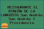 RESTAURANTE EL RINCÓN DE LA LANGOSTA San Andrés San Andrés Y Providencia