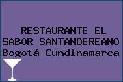 RESTAURANTE EL SABOR SANTANDEREANO Bogotá Cundinamarca