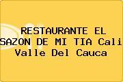RESTAURANTE EL SAZON DE MI TIA Cali Valle Del Cauca