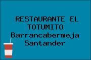RESTAURANTE EL TOTUMITO Barrancabermeja Santander