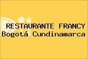 RESTAURANTE FRANCY Bogotá Cundinamarca