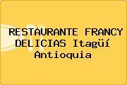 RESTAURANTE FRANCY DELICIAS Itagüí Antioquia