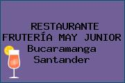 RESTAURANTE FRUTERÍA MAY JUNIOR Bucaramanga Santander