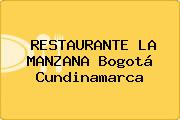 RESTAURANTE LA MANZANA Bogotá Cundinamarca