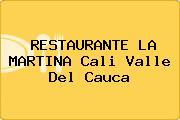 RESTAURANTE LA MARTINA Cali Valle Del Cauca