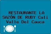 RESTAURANTE LA SAZÓN DE RUBY Cali Valle Del Cauca