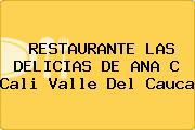 RESTAURANTE LAS DELICIAS DE ANA C Cali Valle Del Cauca