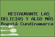 RESTAURANTE LAS DELICIAS Y ALGO MÁS Bogotá Cundinamarca