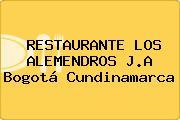 RESTAURANTE LOS ALEMENDROS J.A Bogotá Cundinamarca
