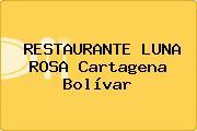 RESTAURANTE LUNA ROSA Cartagena Bolívar