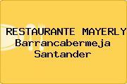 RESTAURANTE MAYERLY Barrancabermeja Santander