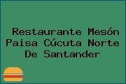 Restaurante Mesón Paisa Cúcuta Norte De Santander