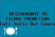 RESTAURANTE MI TIERRA PROMETIDA Cali Valle Del Cauca