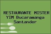 RESTAURANTE MISTER YIM Bucaramanga Santander