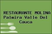 RESTAURANTE MOLINA Palmira Valle Del Cauca