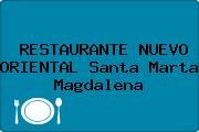 RESTAURANTE NUEVO ORIENTAL Santa Marta Magdalena