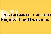 RESTAURANTE PACHITO Bogotá Cundinamarca