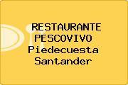 RESTAURANTE PESCOVIVO Piedecuesta Santander