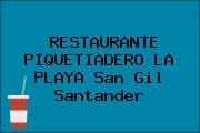 RESTAURANTE PIQUETIADERO LA PLAYA San Gil Santander