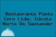 Restaurante Punto Cero Ltda. Cúcuta Norte De Santander