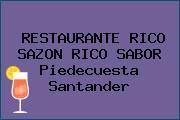 RESTAURANTE RICO SAZON RICO SABOR Piedecuesta Santander