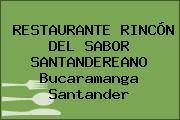 RESTAURANTE RINCÓN DEL SABOR SANTANDEREANO Bucaramanga Santander