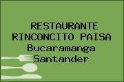 RESTAURANTE RINCONCITO PAISA Bucaramanga Santander