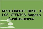 RESTAURANTE ROSA DE LOS VIENTOS Bogotá Cundinamarca