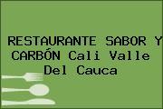 RESTAURANTE SABOR Y CARBÓN Cali Valle Del Cauca