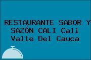 RESTAURANTE SABOR Y SAZÓN CALI Cali Valle Del Cauca
