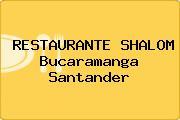 RESTAURANTE SHALOM Bucaramanga Santander